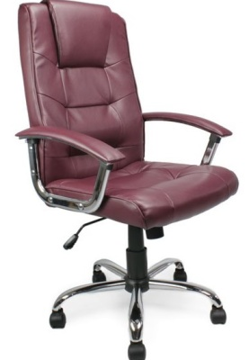 Raffles Leather Chairs Burgundy Leather