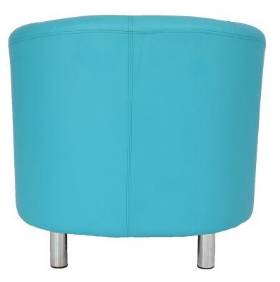 Tritium Tub Chair In Rear Viewlight Blue