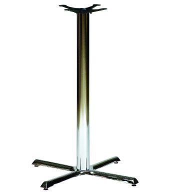 Samson B2 Chrome Base Chrome Poseur Height Column