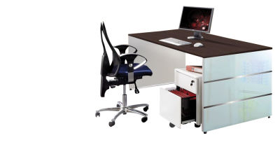 Luciano Glass Desks