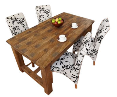 Hatfield Rough Sawn Dining Table