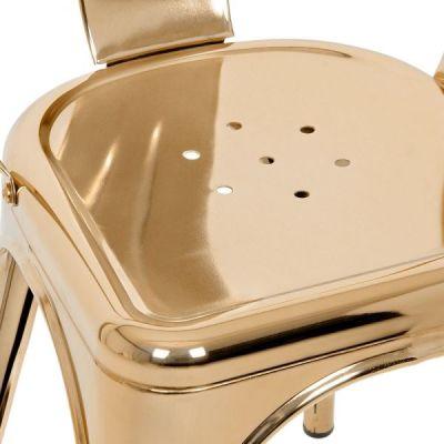 Gold Xavier Pauchard Chair Seat Detail