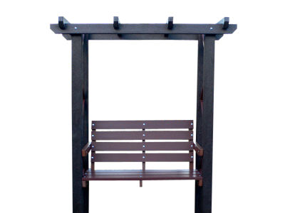 Westpoint Recycled Arbor And Bench