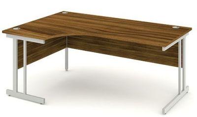 Next Day Revolution L3ft Hand Corner Desk In Walnut