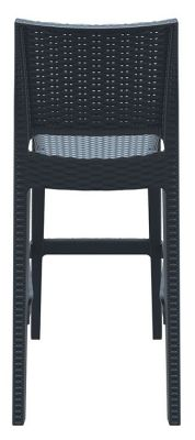 Kona Outdoor Weave Effcet High Stool Rear View