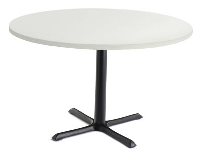 TB Large Circular Cafe Tables White