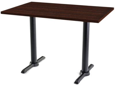 Value TB Rectangular Cafe Tables Wenge