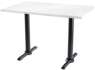 Value TB Rectangular Cafe Tables White