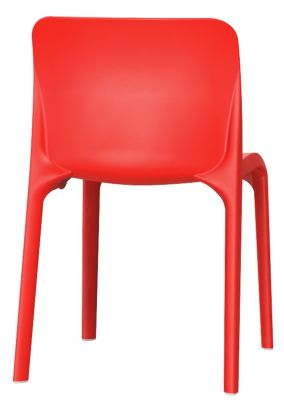 POp Chair In Red Rear View