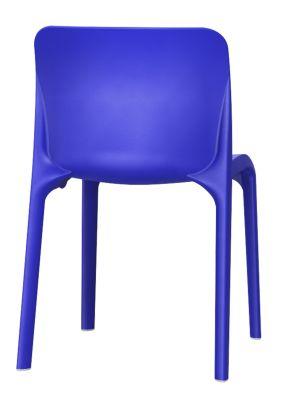 POp Chair In Blue Rear View