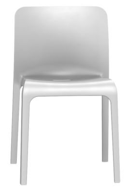 Pop Chair In Signal Grey Front View