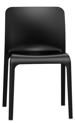 POp Chair In Black Front View
